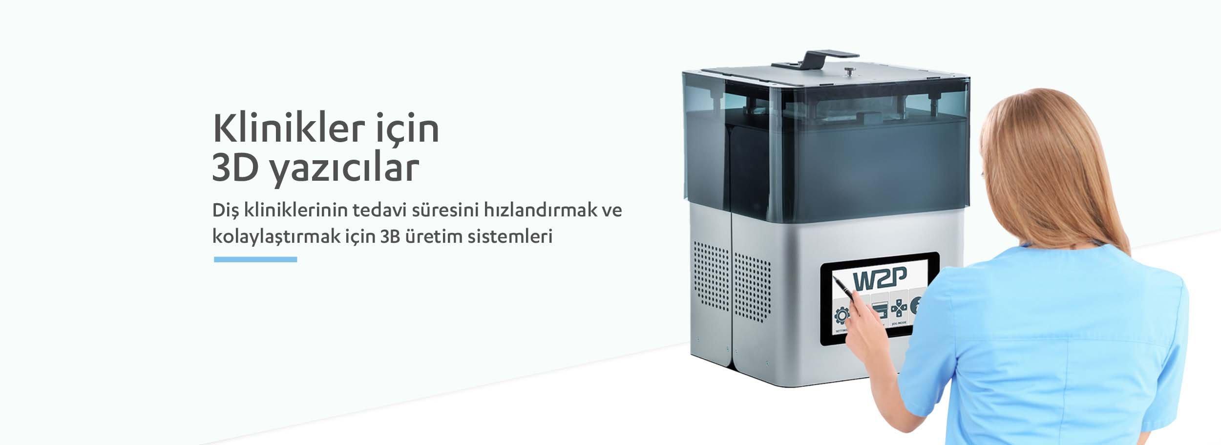 Klinik Tipi 3D Printer